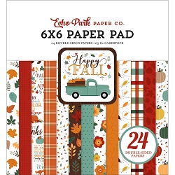 Echo Park - Happy Fall Collection - 6x6 Paper Pad
