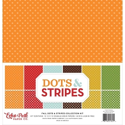 Echo Park - Fall Dots & Stripes Collection Kit