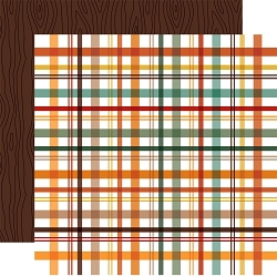 Echo Park - Happy Fall Collection - Fall Picnic Plaid 12