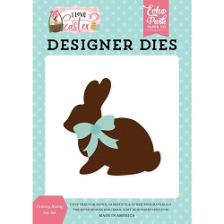 Echo Park - I Love Easter Collection - Yummy Bunny Die Set