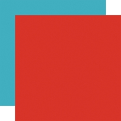 Echo Park - I Love My Dog Collection - Red/Light Blue 12