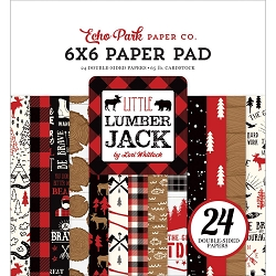 Echo Park - Little Lumberjack Collection - 6x6 Paper Pad