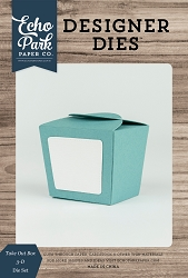 Echo Park - Designer Dies - Take Out Box 3D