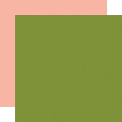 Echo Park - Plant Lady Collection - Green/Peach 12