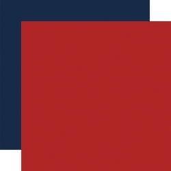 Echo Park - Silent Night Collection - Red/Navy 12