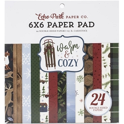 Echo Park - Warm & Cozy Collection - 6x6 Paper Pad