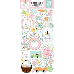Echo Park - Welcome Easter Collection - 6x12 Chipboard Accents
