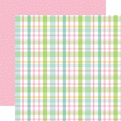 Echo Park - Welcome Easter Collection - Pastel Plaid 12