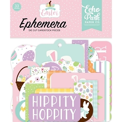 Echo Park - Welcome Easter Collection - Die Cut Ephemera