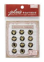 EK Success - Jolee's Boutique French General -Dimensional Stickers, Domed French Icons :)