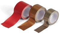 Ek Success - Jolee's Botique - Paper Tape Set - Red and Golds