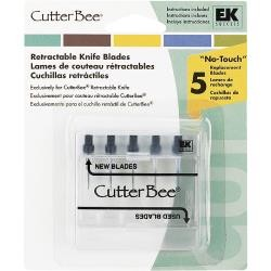 EK Success - CutterBee Retractable Knife blade refills :)