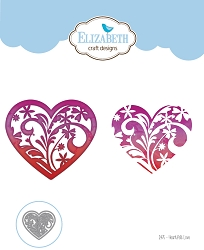 Elizabeth Craft Designs - Die - Heartfelt Love