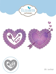 Elizabeth Craft Designs - Die - Love Struck