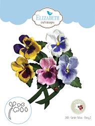 Elizabeth Craft Designs - Die - Garden Notes Pansy 2 by Susan Tierney Cockburn