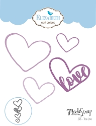 Elizabeth Craft Designs - Die - True Love by Modascrap