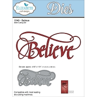 Elizabeth Craft Designs - Die - by Suzanne Cannon - Believe