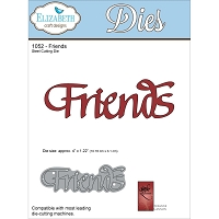 Elizabeth Craft Designs - Die - by Suzanne Cannon - Friends