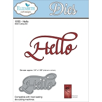 Elizabeth Craft Designs - Die - by Suzanne Cannon - Hello