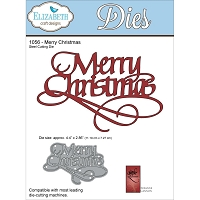 Elizabeth Craft Designs - Die - by Suzanne Cannon - Merry Christmas