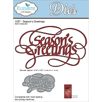 Elizabeth Craft Designs - Die - by Suzanne Cannon - Season's Greetings