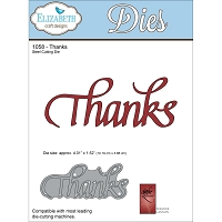 Elizabeth Craft Designs - Die - by Suzanne Cannon - Thanks