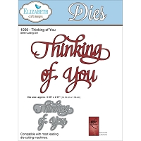 Elizabeth Craft Designs - Die - by Suzanne Cannon - Thinking of You