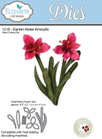Elizabeth Craft Designs - Die - Garden Notes Amaryllis by Susan Tierney Cockburn