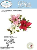 Elizabeth Craft Designs - Die - Garden Notes Small Poinsettia by Susan Tierney Cockburn