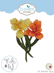 Elizabeth Craft Designs - Die - Garden Notes Day Lily by Susan Tierney Cockburn