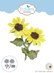 Elizabeth Craft Designs - Die - Garden Notes Sunflower 2 by Susan Tierney Cockburn