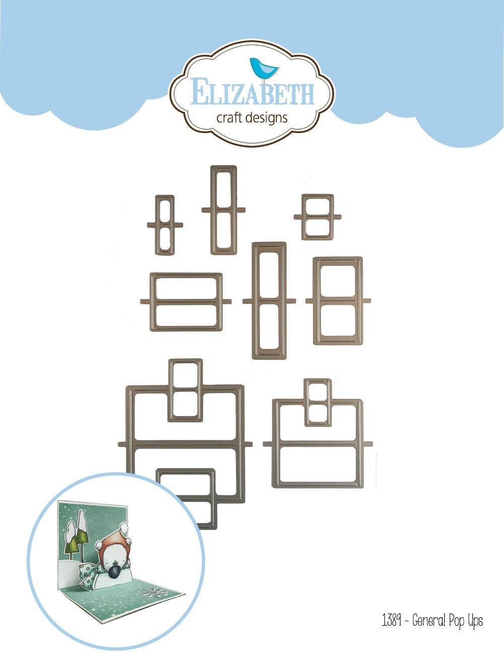 Elizabeth Craft Designs Die General Pop Ups