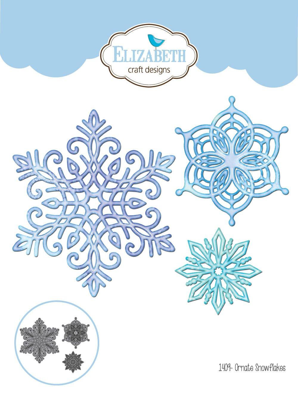 Elizabeth Craft Designs - Die - Ornate Snowflakes