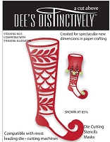 In The Making - Dee's Distinctively Die - Stocking Overlay 3