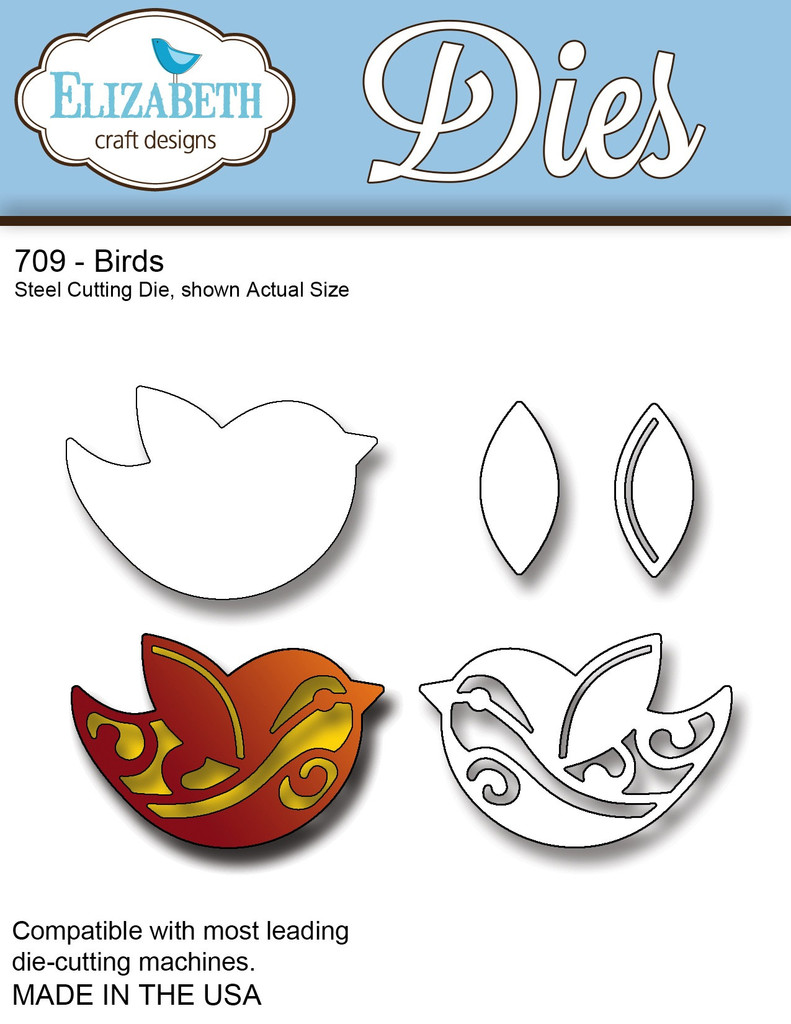 Elizabeth Craft Designs Die Birds
