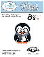 Elizabeth Craft Desings - Die - by Karen Burniston - Chilly the Penguin