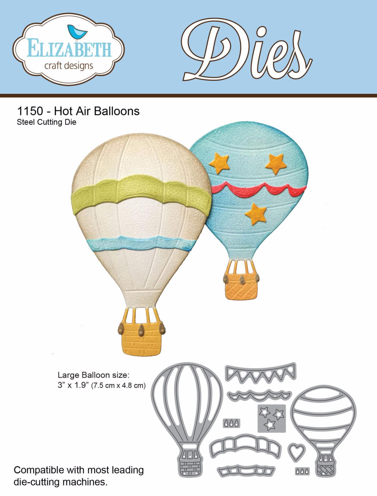 Elizabeth Craft Designs Die Hot Air Balloons