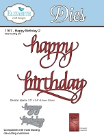 Elizabeth Craft Designs - Die - by Suzanne Cannon - Happy Birthday 2