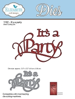 Elizabeth Craft Designs - Die - by Suzanne Cannon - It's A Party