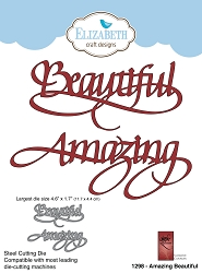 Elizabeth Craft Designs - Die - Amazing Beautiful by Suzanne Cannon