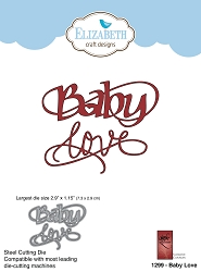 Elizabeth Craft Designs - Die - Baby Love by Suzanne Cannon