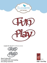 Elizabeth Craft Designs - Die - Fun Play by Suzanne Cannon