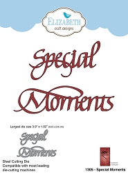 Elizabeth Craft Designs - Die - Special Moments by Suzanne Cannon