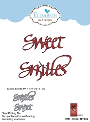 Elizabeth Craft Designs - Die - Sweet Smiles by Suzanne Cannon
