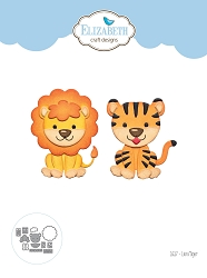 Elizabeth Craft Designs - Die - Lion Tiger