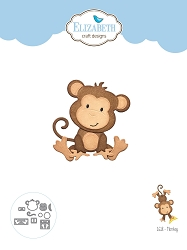 Elizabeth Craft Designs - Die - Monkey