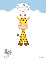 Elizabeth Craft Designs - Die - Giraffe