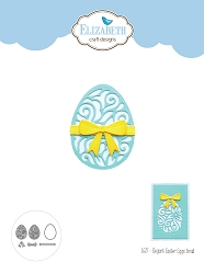 Elizabeth Craft Designs - Die - Elegant Easter Eggs Small