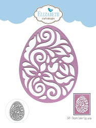 Elizabeth Craft Designs - Die - Elegant Easter Eggs Large