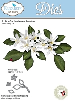 Elizabeth Craft Designs - Die - Garden Notes Jasmine by Susan Tierney Cockburn